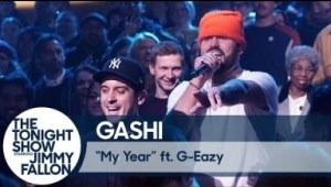 "Gashi & G-eazy Perform ""my Year"" On The Tonight Show"